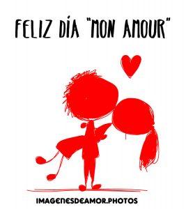 feliz día amor