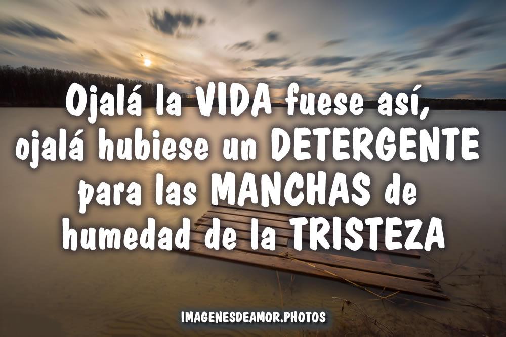 IMÁGENES DE TRISTEZA ® Frases tristes cortas de amistad y amor