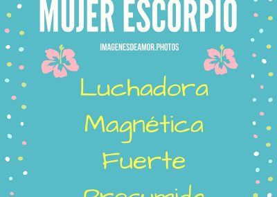escorpio horoscopo frases