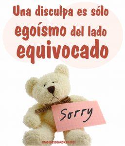 frases de disculpas