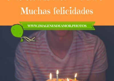 felicitación de cumpleaños