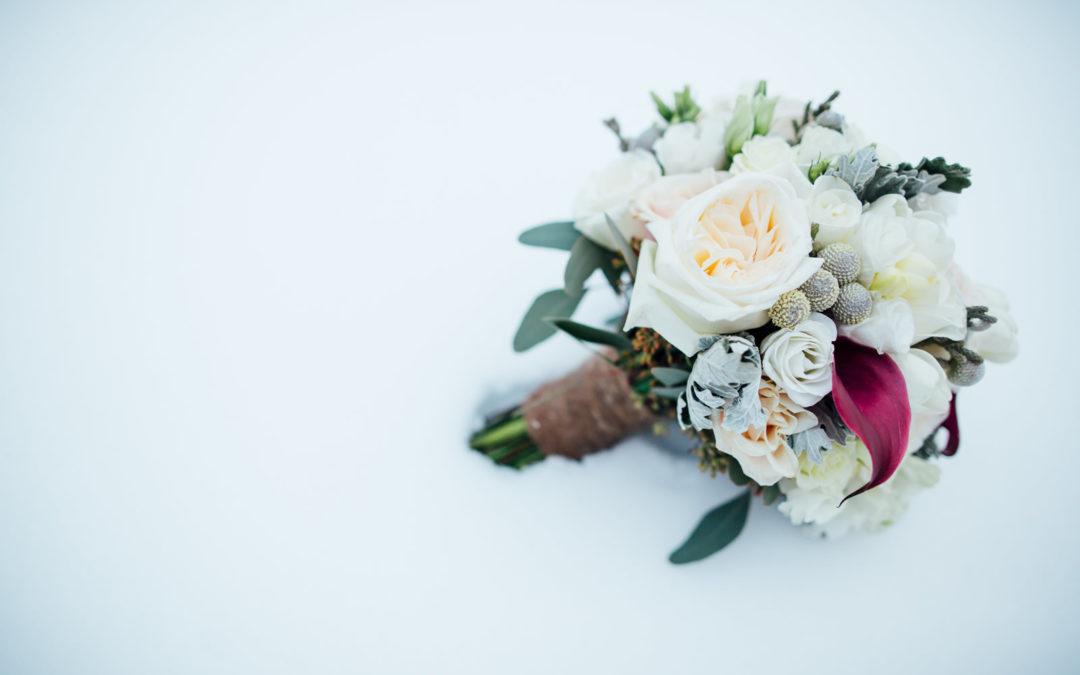 Centros de mesa ideales para bodas en Diciembre